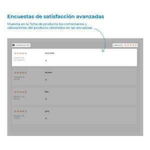 Advanced satisfaction surveys module