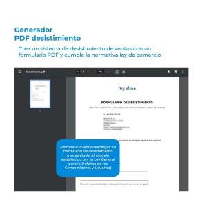 Módulo generador de PDF de desistimiento