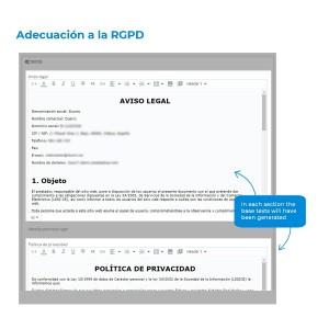 Módulo para la adecuación a la RGPD
