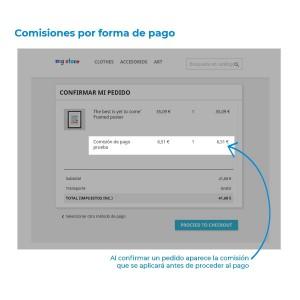 Módulo de comisiones por forma de pago