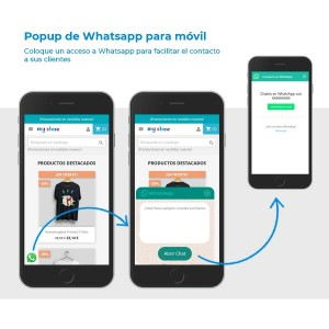 Módulo Popup de Whatsapp para móvil