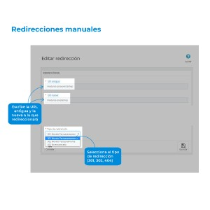 Manual URL Redirects Module