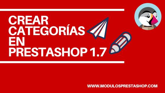 Créer des catégories dans Prestashop 1.7