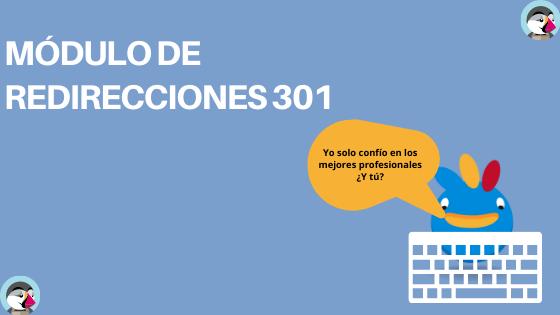 Redirecciones 301 en Prestashop