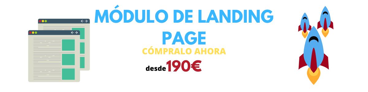 módulo landing page