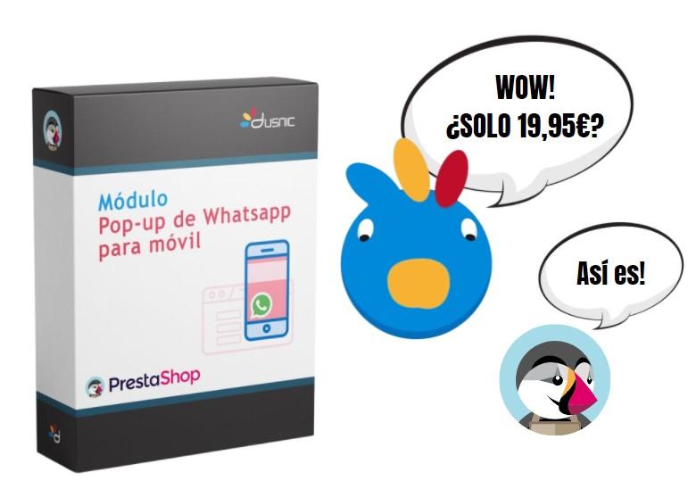 Modulo Prestashop Whatsapp